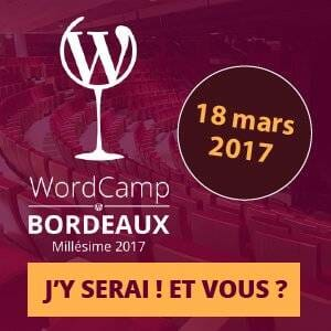 Banniere Wordcamp Bordeaux 2017