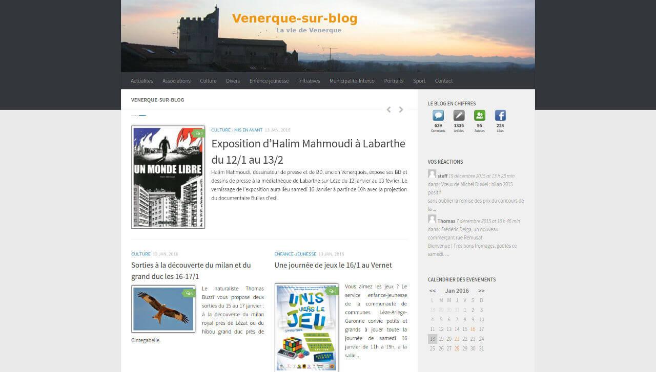 vue nouveau site Blog de Venerque