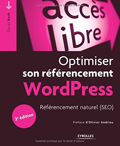 Couverture Optimiser Referencement WordPress Daniel Roch