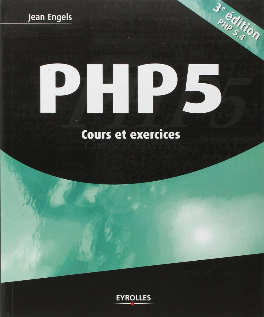 PHP5 Cours Exercices Jean Engels