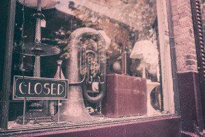 boutique fermée
