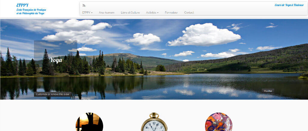 vue site web efppy