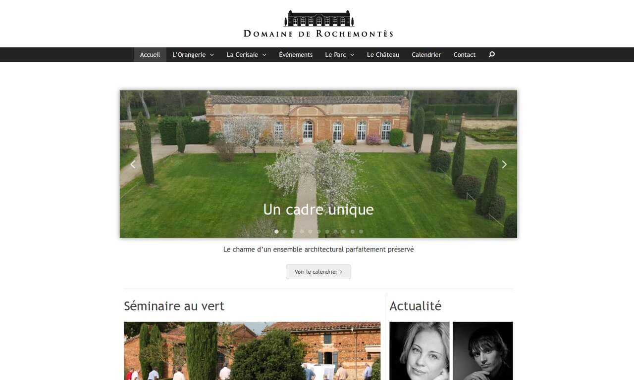 Vue site web rochemontes.com