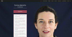 Vue site www.corinne-mariotto.com