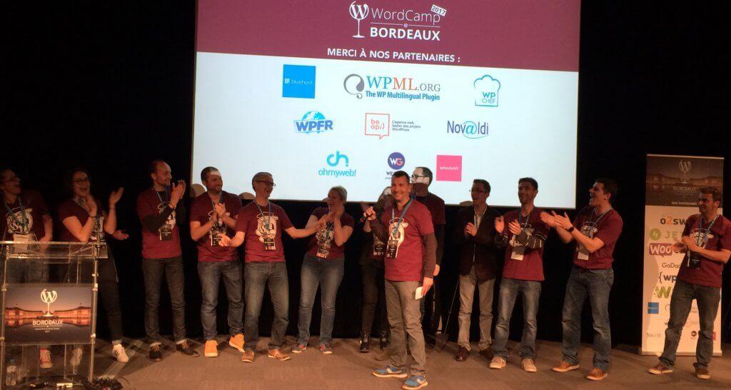 Wordcamp Bordeaux 2017 Anniversaire Cyrille Sanson