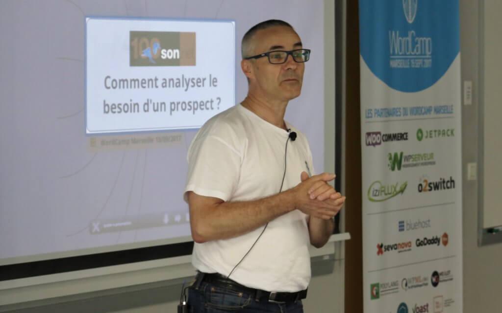 Wordcamp Marseille 2017 Cyrille Sanson