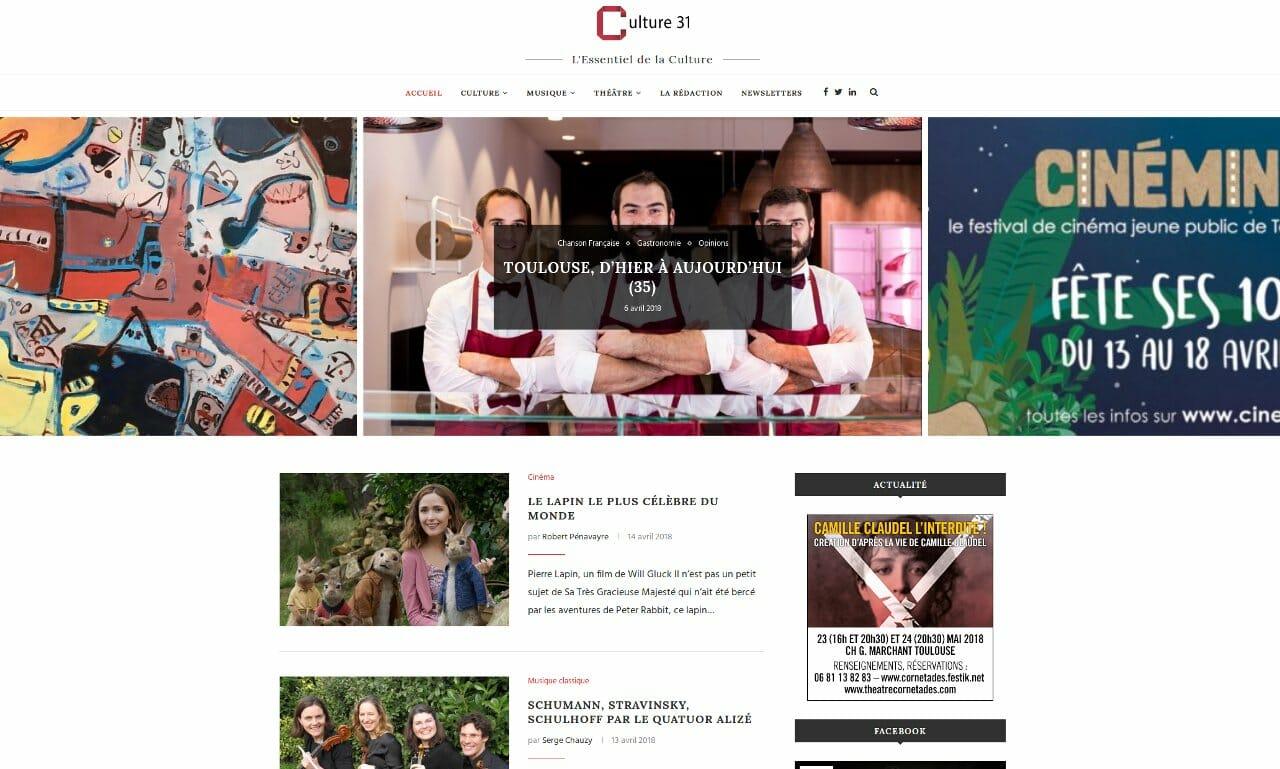 Site blog.Culture31.com