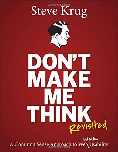 Couverture Don't Make Me Think de Steve Krug