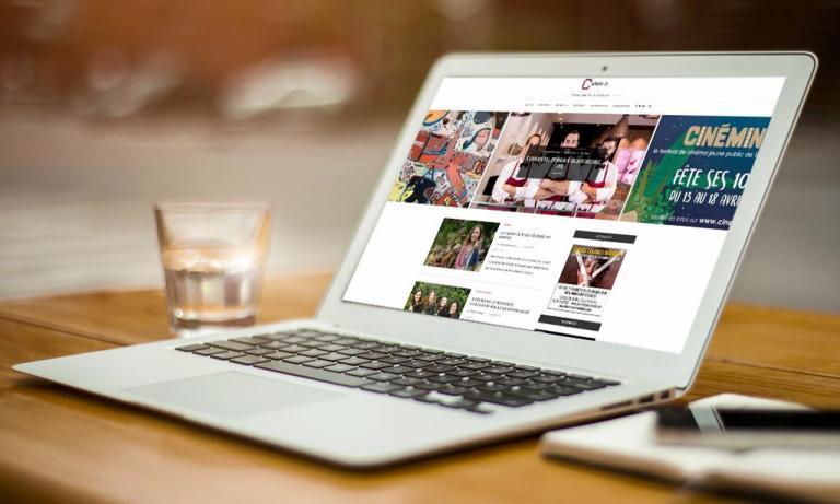Portable affichant la page d'accueil de Culture31.com.