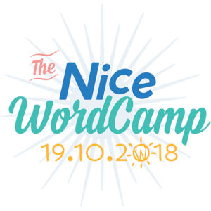 Logo WordCamp Nice 2018
