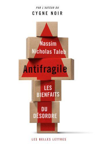 Couverture d'Antifragile de Nassim Nicholas Taleb.