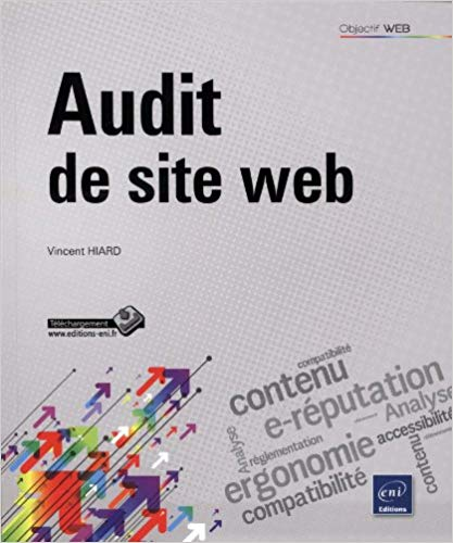 Couverture du livre Audit de Site Web de Vincent Hiard.
