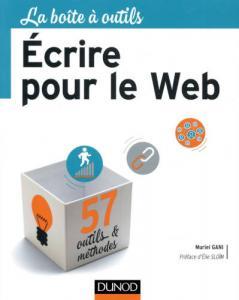 Couverture du livre Écrire pour le Web de Muriel Gani.
