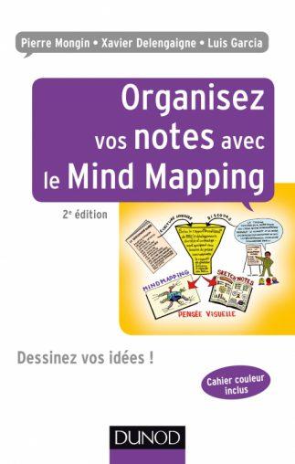 Couverture du livre Organisez vos Idées avec le Mind Mapping de Jean-Luc Deladrière et Frédéric Le Bihan.