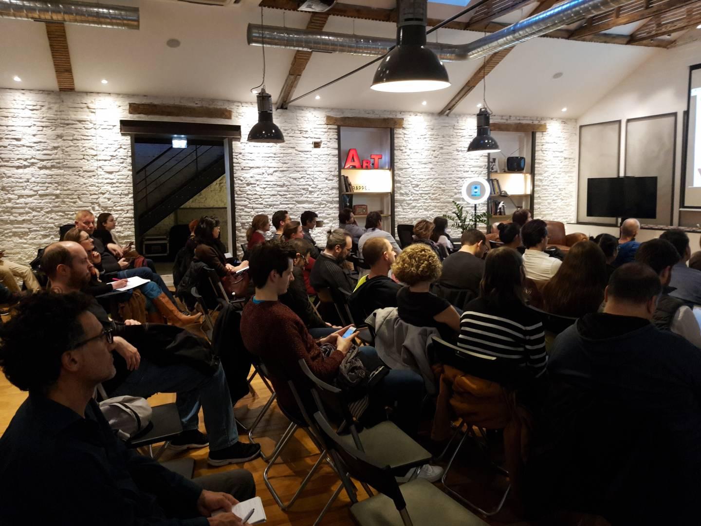 Public du Meetup WordPress Toulouse spécial SEO.