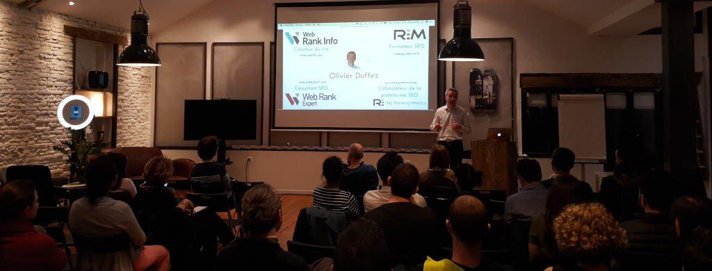20190313 Olivier Duffez Web Rank Info Meetup WordPress Toulouse