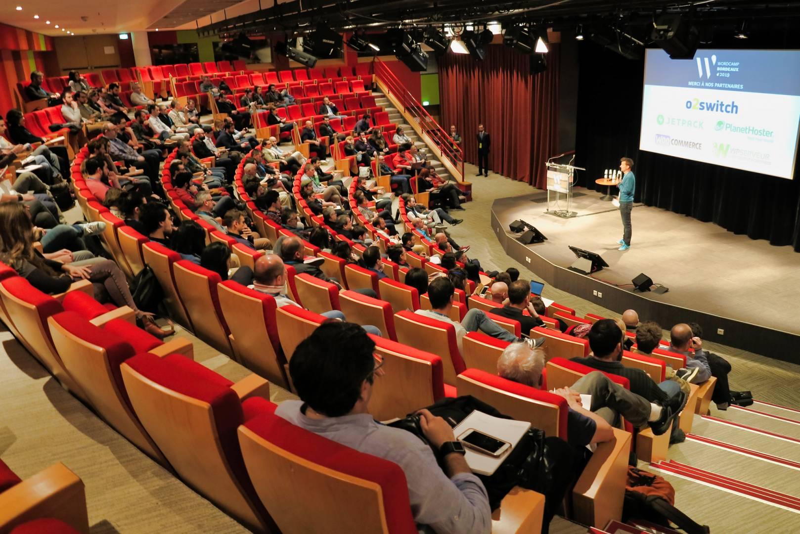 20190323 Wordcamp Bordeaux Salle FX