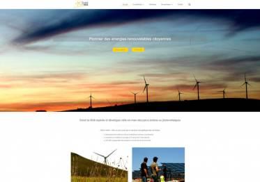 Capture page d'accueil du site soleildumidi.fr.