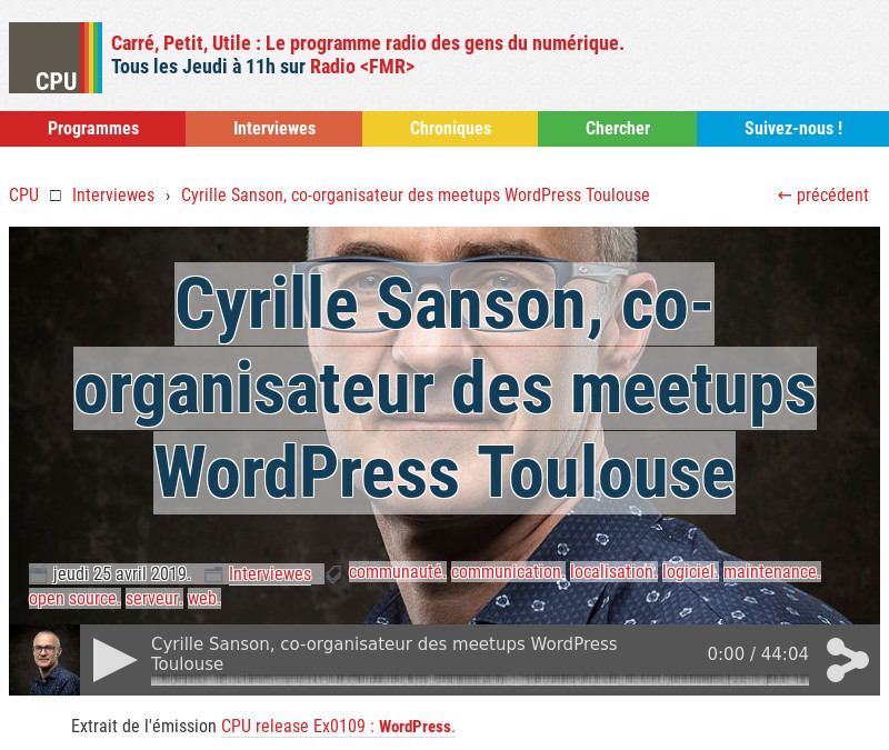 Cpu 20190425 Emission Wordpress