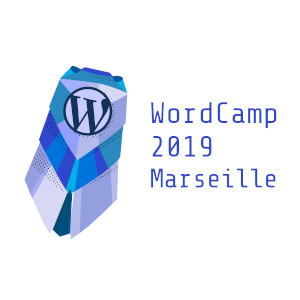 Logo Wordcamp Marseille 2019.