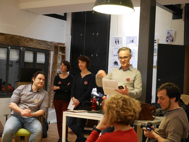 Mike Leconte, Marie Comet, Maïlis Amalric, Cyrille Sanson, Mathias Peguet.
