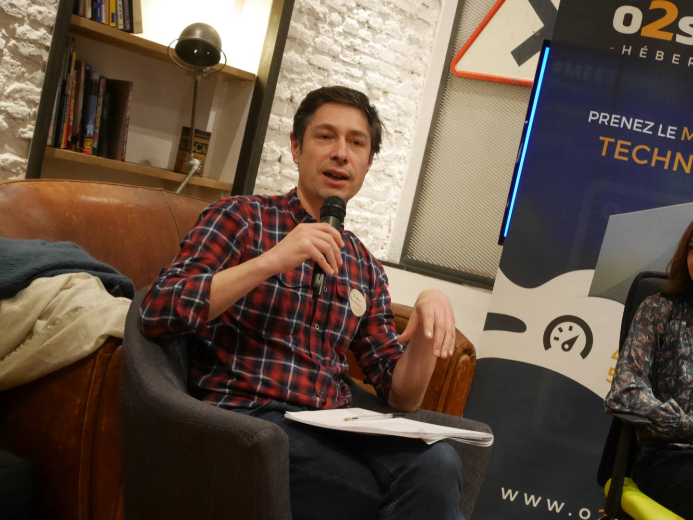 Didier Fontana gérant du magasin Jeux du Monde.