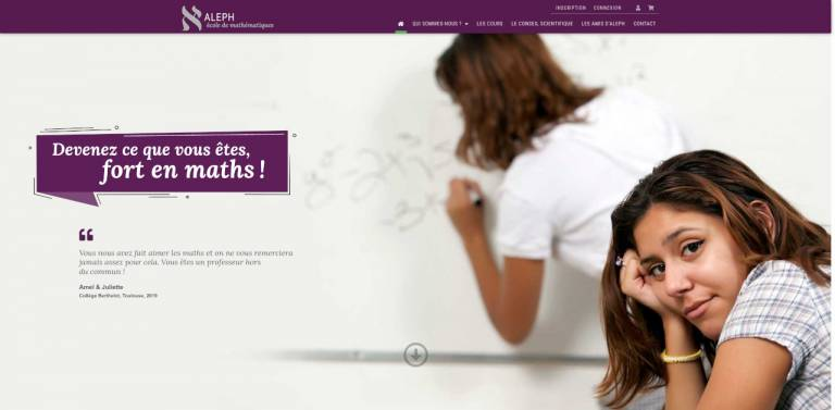 Vue site Aleph-Boudu.com