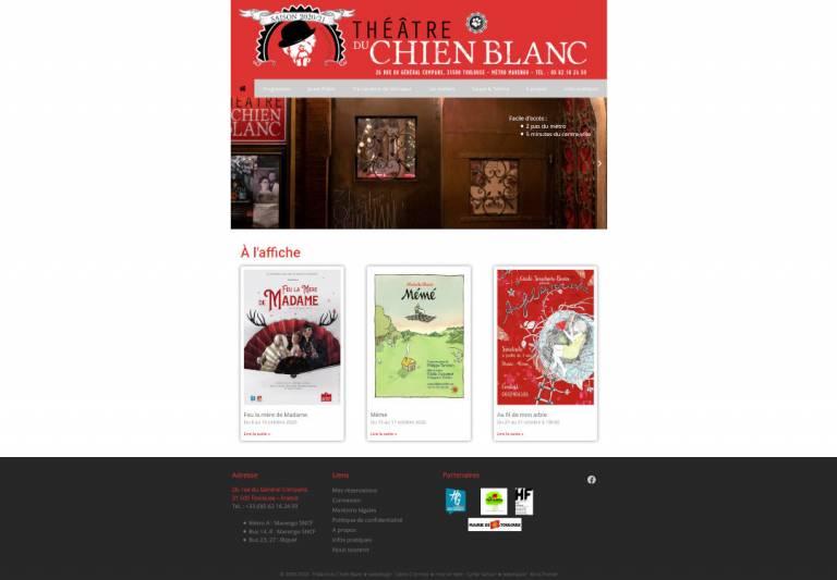 Vu Site Theatre Chien Blanc